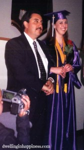 Me and my dad at my High School graduation!