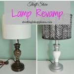 Thrift Store Lamp Revamp