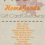 HomeGoods $150 Giveaway!