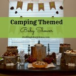 Camping Themed Baby Shower