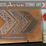 Easy Rustic Arrow String Art