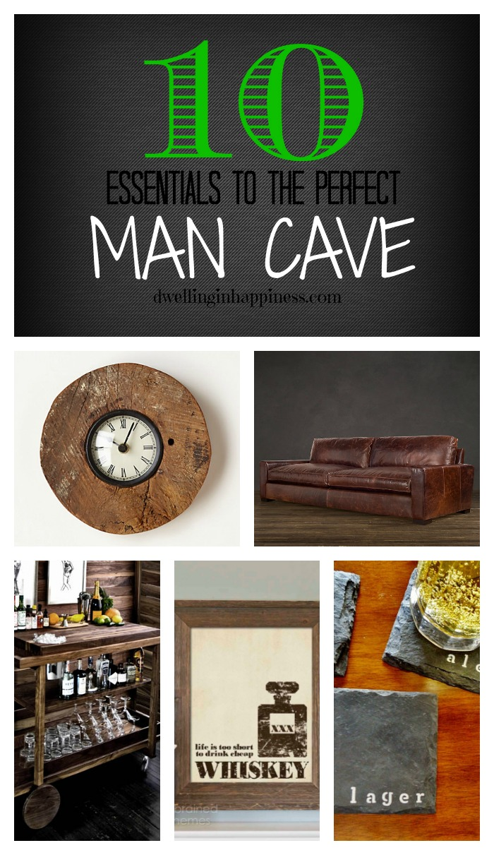 The Man Cave Essentials : Essentials to the perfect man cave dwelling in happiness