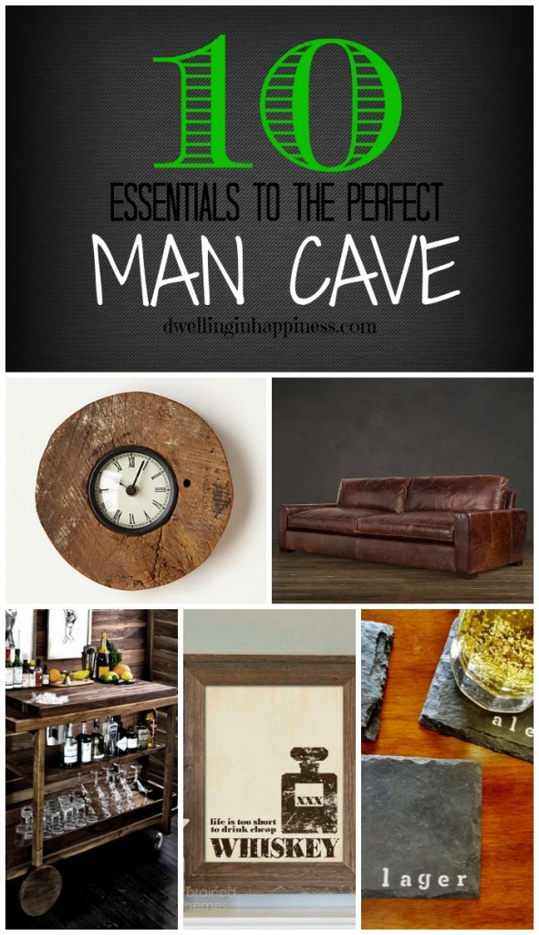 Essentials For Man Cave : Essentials to the perfect man cave dwelling in happiness