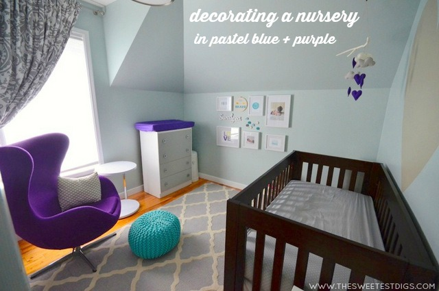 decorating-a-nursery-in-pastel-blue-and-purple-via-the-sweetest-digs