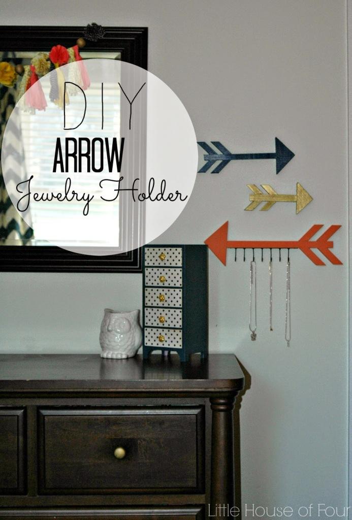 Arrow jewelry holder