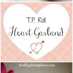 T.P. Roll Heart Garland