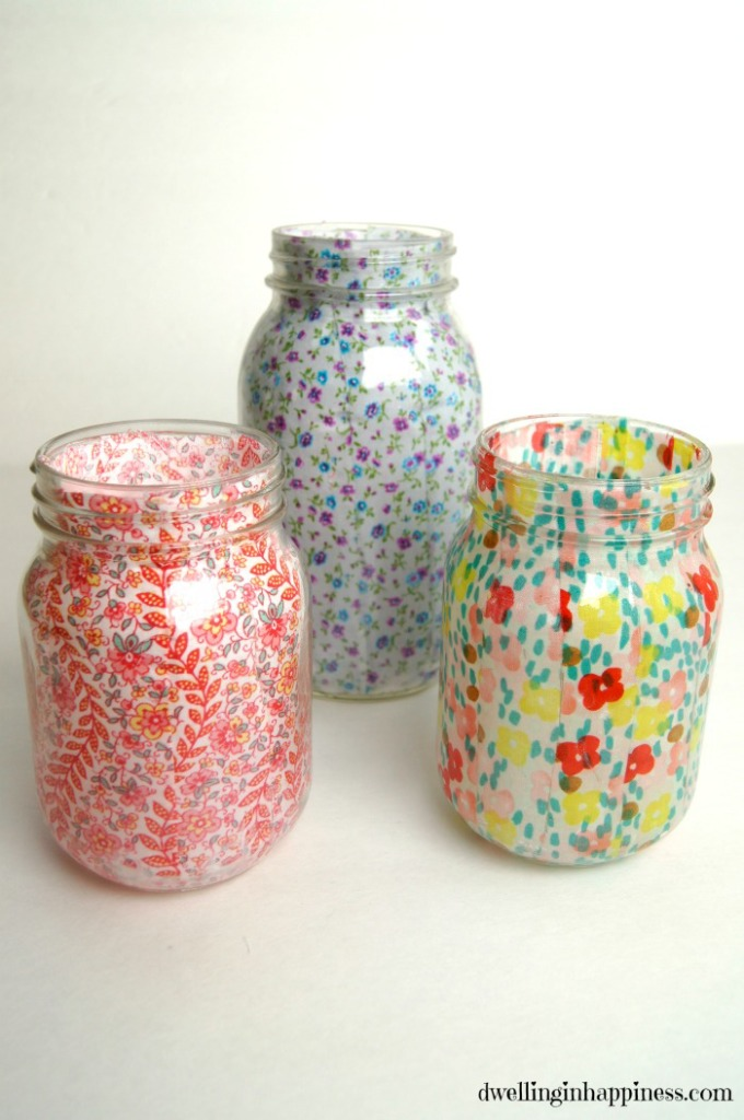 How to paint mason jars, mason jar crafts