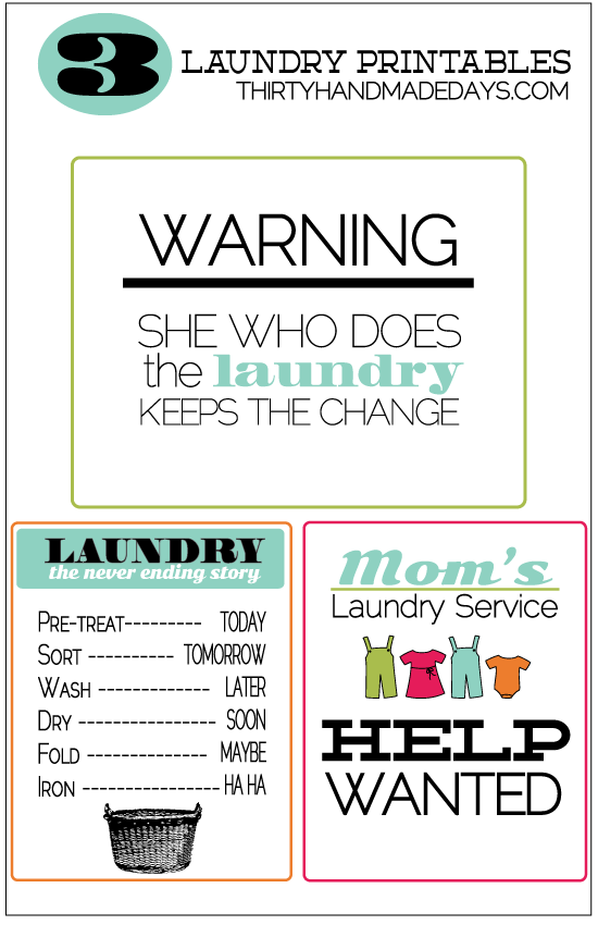 3laundryprintables