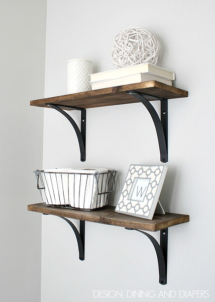 DIY-Rustic-Bathroom-Shelves-Easy-and-inexpensive.-via-designdininganddiapers.com_