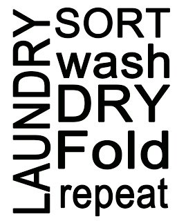 graphic regarding Free Printable Laundry Room Signs referred to as 40 Fabulously No cost Rest room Laundry House Printables