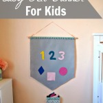 DIY Easy Felt Banner for Kids