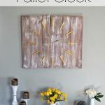 Rustic Pallet Clock