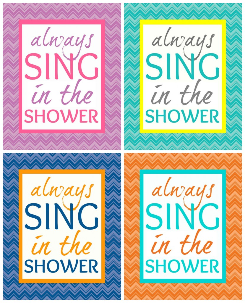 image about Printable Bathroom Rules named 40 Fabulously No cost Lavatory Laundry Area Printables