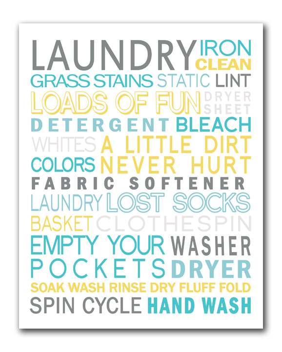 photo about Free Printable Laundry Room Signs named 40 Fabulously No cost Rest room Laundry Area Printables