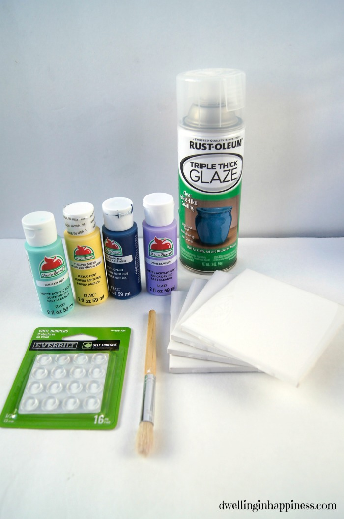 DIY Handprint Coasters