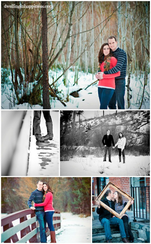 Engagement photos - Dwelling in Happiness