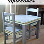 Toddler Table Makeover