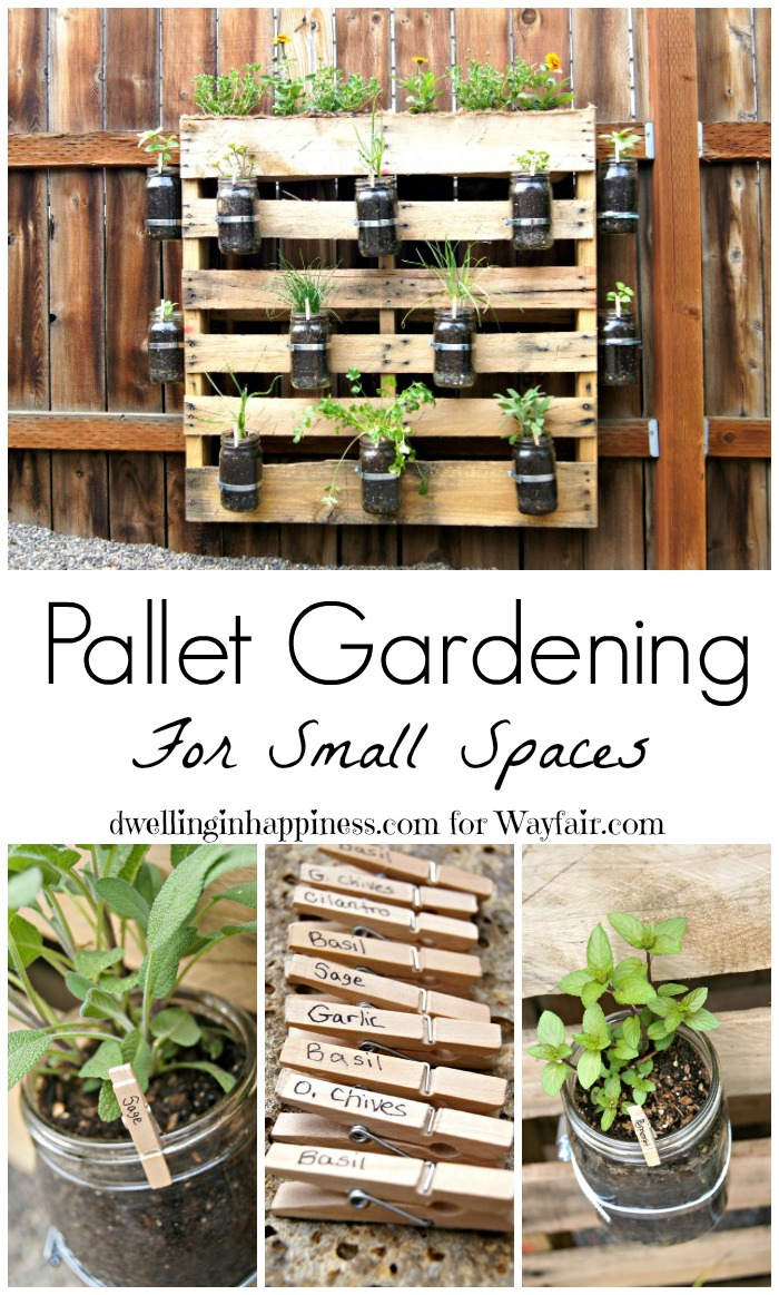 How to pallet gardening for small spaces - Backyard patio design ideas to accompany your tea time ...