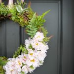 How to Make the Easiest Spring Wreath Ever
