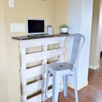 How to Build an Inexpensive Standing Pallet Desk