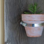 Easy Reclaimed Barnwood Indoor Plant Holders