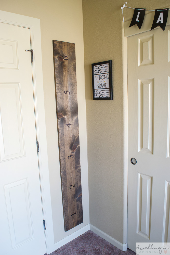 How To Make A Ruler Growth Chart Dwelling In Happiness