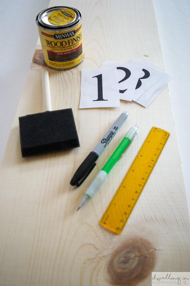 How to Make a Ruler Growth Chart | Dwelling in Happiness