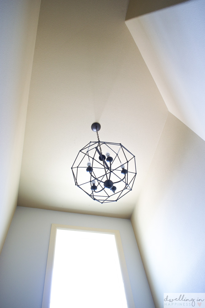 10 Stunning Geometrical Chandeliers for under $250 // Dwelling in Happiness