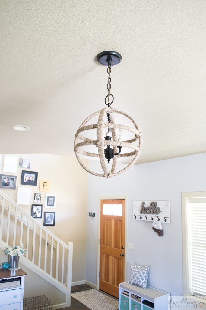 Cheap and easy diy twine orb chandelier dwelling in happiness cheap and easy diy twine orb chandelier dwelling in happiness aloadofball Images