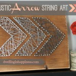Easy Rustic Arrow String Art