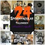 24 Spooktacular Halloween Mantels and Vignettes