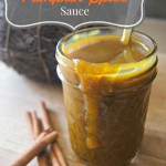 Simple Pumpkin Spice Sauce
