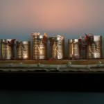 """Thankful"" Tin-Can Luminaries"