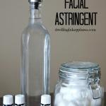 Homemade Facial Astringent