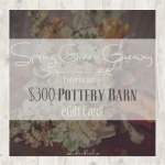 Spring Green Pottery Barn Giveaway!