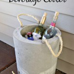 DIY Concrete Beverage Cooler