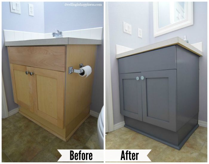 painting a bathroom vanity white how to paint your bathroom vanity the easy way 23930